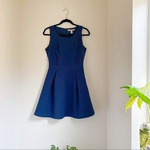 Forever 21 Deep Teal Blue Aline Dress (Small)